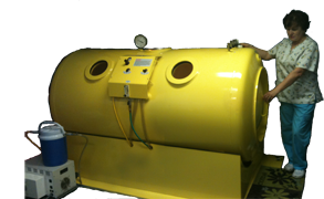 Photo of a Hyperbaric Chamber
